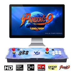 Pandora's Box 9 Multiplayer Joystick And Buttons Arcade Console Tapdra Arcade Games Machines For Home 1500 Retro Classic Video G
