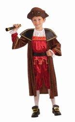 Forum Novelties Children's Christopher Columbus Costume Large