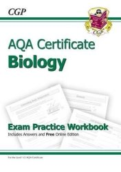 Aqa Certificate Biology Exam Practice Workbook With Answers & Online Edition