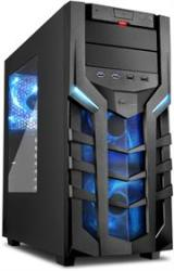 Sharkoon 4044951018215 DG7000 Atx Tower PC Gaming Case Blue With Side Window
