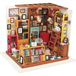 Robotime Wooden Model Diy House Kit - Sam's Study