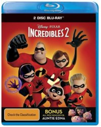 Disney Blu-ray The Incredibles 2 - 2D 3D Blu-ray Disc