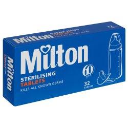 Milton - Sterilising Tablets 32S
