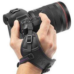 Camera Hand Strap - Rapid Fire Secure Grip Padded Wrist Strap Stabilizer By Altura Photo For Dslr And Mirrorless S
