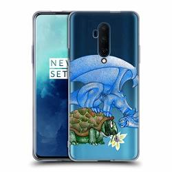 Official La Williams Peekaboo Little Dragons Soft Gel Case Compatible For Oneplus 7T Pro