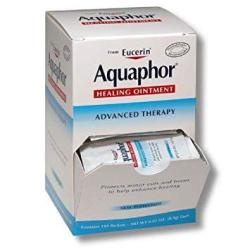 Aquaphor Healing Ointment Contains 144 Packets Net Wt 0.03 Oz. 0.9G Each
