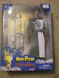 """John Cleese As Sir Launcelot 12"""" Collectible Figure - Monty Python And The Holy Grail First Series"""