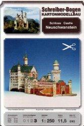 Schreiber-bogen Neuschwanstein Castle Card Model