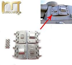 USA Mato Turret Side Metal Opening Hatches For 1 16 1:16 Panzer III Iiih Panzer Iv F1 Panzer IV-F2 Tank