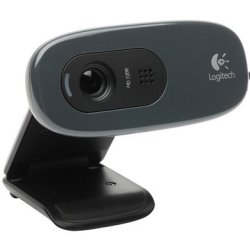 Logitech - 960-000582 - C270 HD Webcam With Integrated Microphone