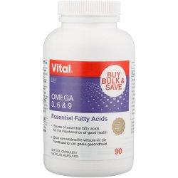 Vital Omega 3 6 & 9 Multi Omega 30 Capsules