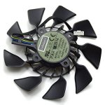 InRobert 95MM T129215SU Cooler Fan For Asus Asus Geforce GTX 780 TI Radeon R9 280 280 X 290 290X Graphics Card Fan-b