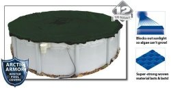 Silver Arctic Armor Winter Cover For 12FT Round Above Ground Pools