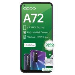 Oppo A72 Single Sim Twilight Black+wireless E