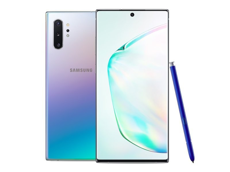Samsung Galaxy Note 10 Plus 256GB in Aura Glow Preorder