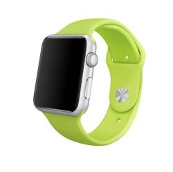 38MM 40MM Silicone Strap For Apple Watch - Green
