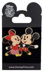 Disney Pin - Flexible Characters Series - Mickey & Minnie Mouse