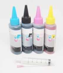 Opt Brand. 4 X 100ML Refill Ink For Brother LC71 LC75 LC79 : MFC-J5910DW MFC-6510DW MFC-J6710DW MFC-J6910DW
