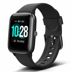 LINTELEK Smart Watch With 1.3 Lcd Full Touch Screen Large Screen Fitness Tracker With Heart Rate Monitor Pedometer Sleep Tracker Waterproof Activity Tracker For