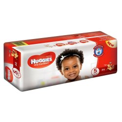Huggies Dry Comfort Nappies Value Pack 44'S