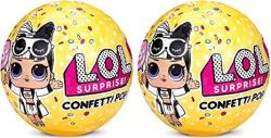 USAB L.o.l. Surprise Confetti Pop Series 3 Wave 2 Bundle Of 2 Dolls