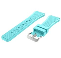 Women's Silicone Strap For Samsung Gear S3 Frontier - Frost Blue