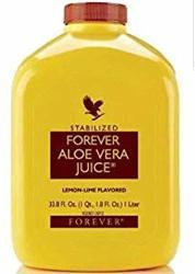 Forever Living Aloe Vera Juice 33 8 Oz Con Sabor A Lima Lim N2 Bottles