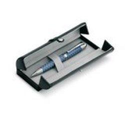 Finish Guilloch Ball Pen - Available In: Titanium Copper
