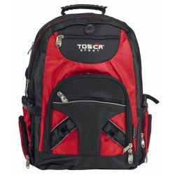 Tosca - Large Red Laptop Backpack 756-60R