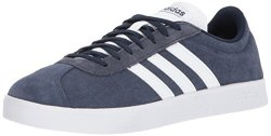 Adidas Performance Men's Vl Court 2.0 Sneaker Collegiate Navy white white 4.5 M Us