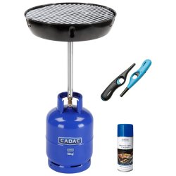 Cadac - Handi Braai + Braai Cleaner And Twin Pack Lighter