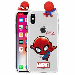 New Figure Clear Jelly Case With Avengers Character For Samsung Galaxy S10E Spider Man