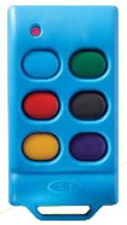 E.T. Systems Et-blu Mix 6 Button Remote - Blue