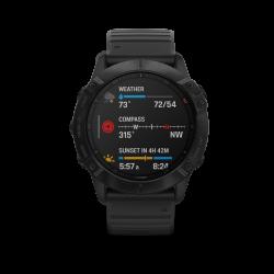 Mac Shack Fnix 6X Pro Multisport Gps Watches - Black With Black Band