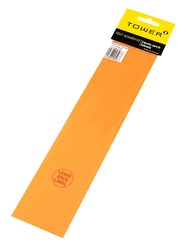 Tower Lever Arch Labels - Fluorescent Orange Pack Of 12