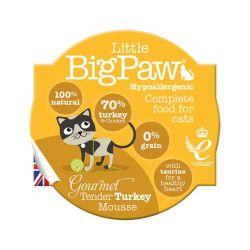 Little Big Paw Cat Mousse - Gourmet Tender Turkey