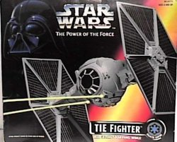 Star Wars: Power Of The Force Tie Fighter Vehicle