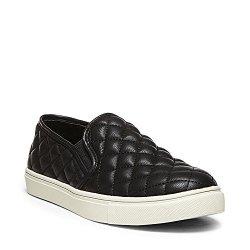 Steve Madden Women's Ecentrcq Slip-on Fashion Sneaker Black 11 M Us