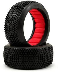 USA Aka Racing 14006SR 1:8 Buggy Enduro Soft Tires With Red Insert