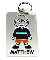 Tag Kid's Charm - Matthew