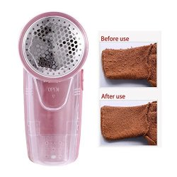 NEARTIME Portable Electric Sweater Clothes Lint Pill Fluff Remover Fabrics Fuzz Shaver