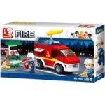 Sluban Small Fire Truck And Oil 136 Pieces